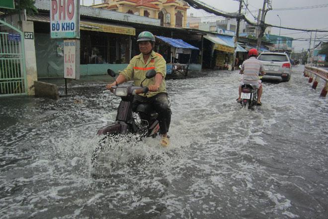 Sau trận mưa lớn lịch sử, TP.Hồ Chí Minh chỉ ngập sâu nhất... 50cm! - ảnh 1
