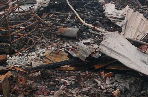 An Giang: Cháy 85 căn nhà ven biên giới 5