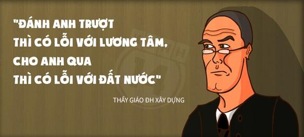 Thú vị với những câu nói 'bá đạo' nhất của thầy cô Việt