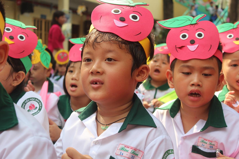 Rạng rỡ nụ cười ngày khai giảng năm học mới