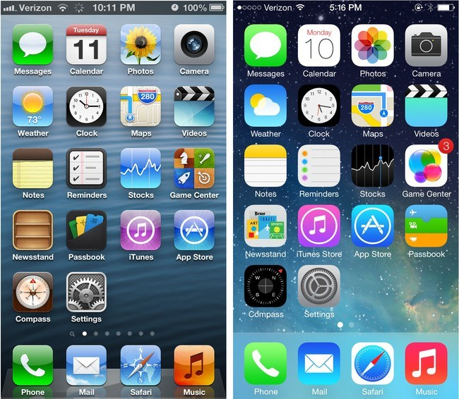Hạ cấp từ iOS 7 về iOS 6: Cánh cửa hẹp đã đóng