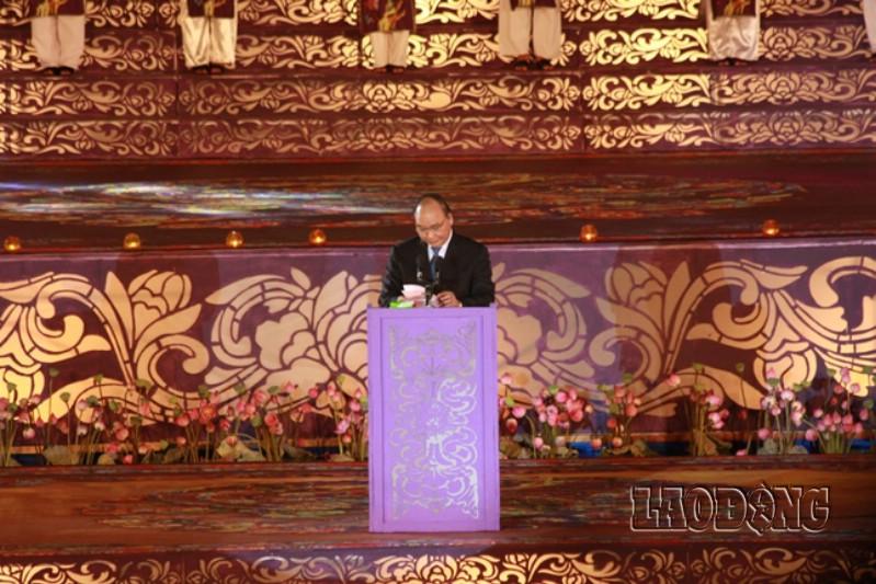 Phó Thủ tướng Nguyễn Xuân Phúc phát biểu khai mạc