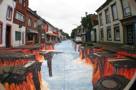 Ngắm những hình ảnh 3D đường phố cực chất.