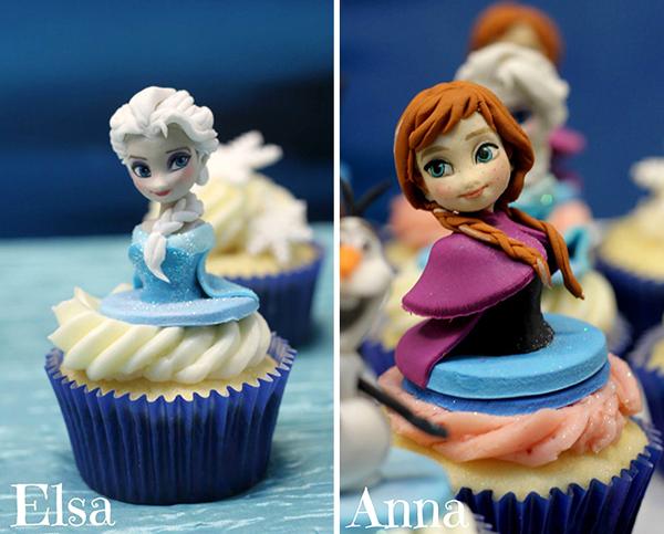 Mê tít những chiếc bánh cupcake giống nhân vật hoạt hình