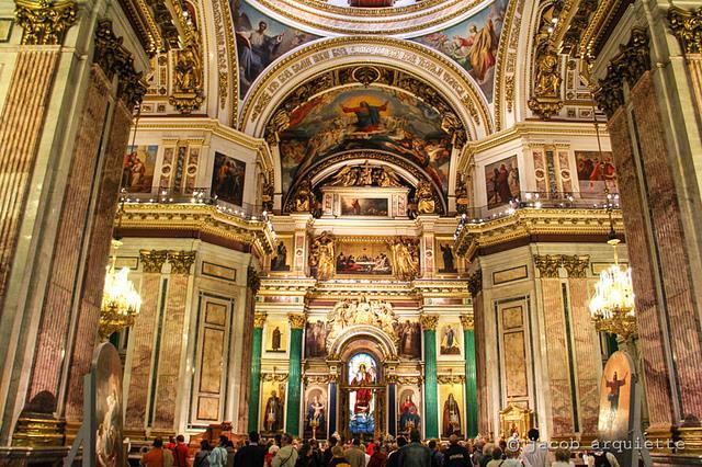Nhà thờ Saint Issac Nga - Joymark Travel