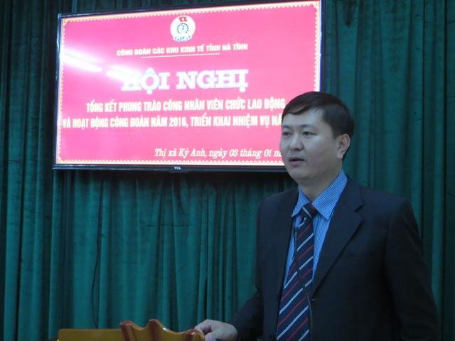 Công đoàn các Khu kinh tế tỉnh Hà Tĩnh: Sau 7 tháng thành lập đã phát triển thêm 1.676 đoàn viên 