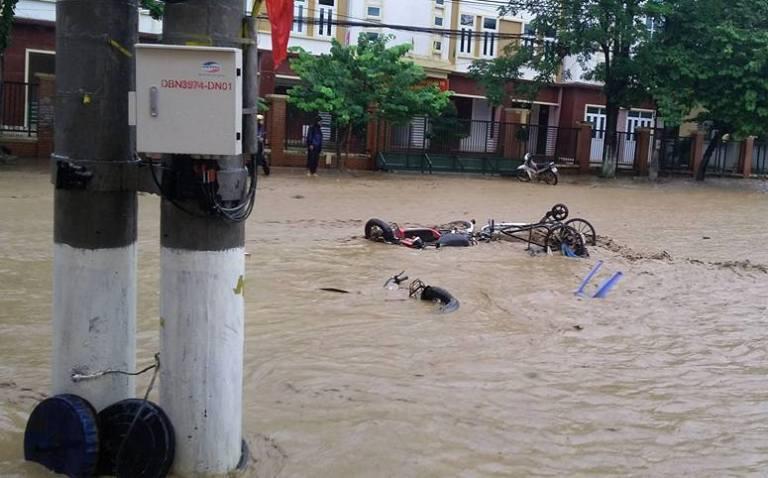 Flooding sweeps northern region