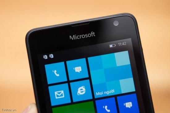 Cận cảnh smartphone Lumia 430 giá rẻ giật mình của Microsoft - H6