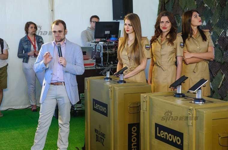 Chân dài xứ sở Bạch Dương giới thiệu Lenovo P90