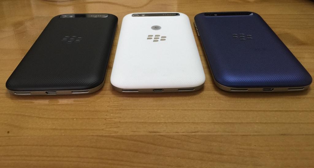 Cận cảnh 3 điện thoại BlackBerry chỉ khác màu nhưng chênh nhau tới 2,5 triệu đồng